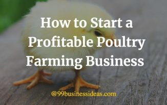 How to start a poultry farming business