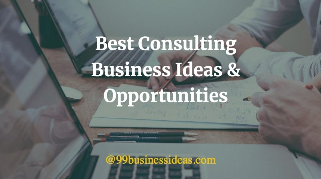 best consulting business ideas