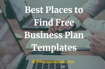 best places to find free business plan templates