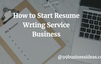 how to start home-based resume writing business
