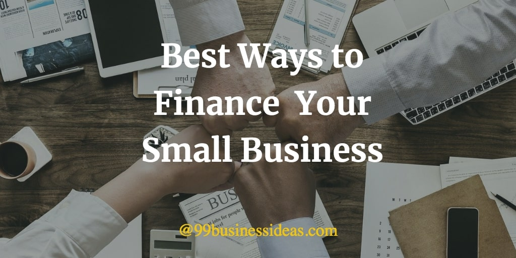 ways to finance your small business
