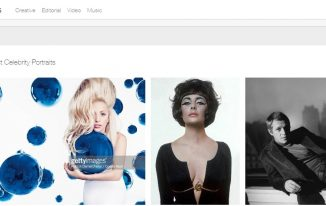 getty-images photography site