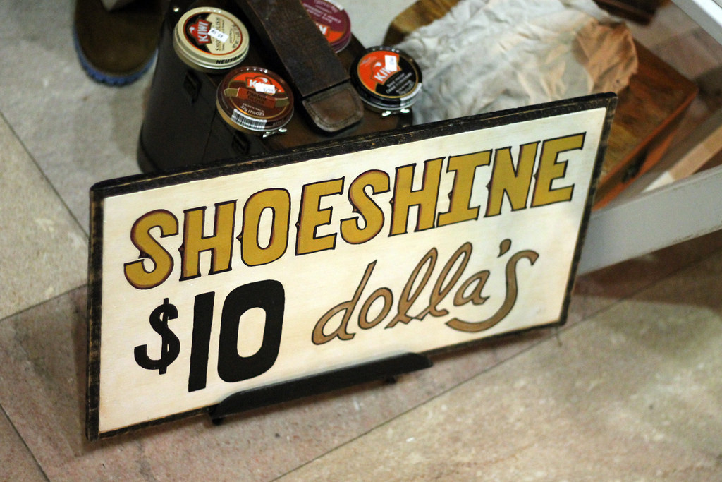 shoe shine shop
