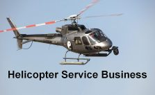 charter helicopter service business ideas