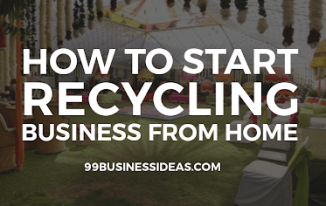 recycling business from home