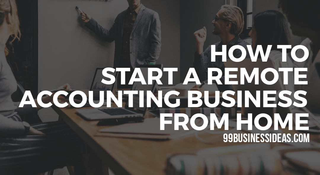 how to start home accounting business