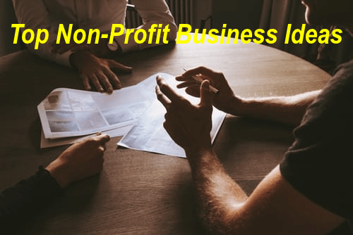 top 25 non-profit business ideas