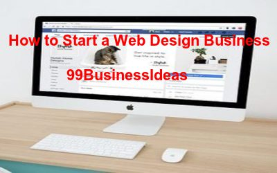 how to start a web design business from home with no experience