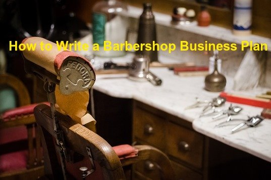 how to write barbershop business plan