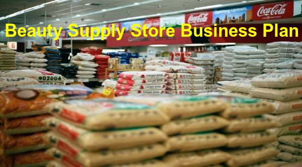 beauty supply store business plan