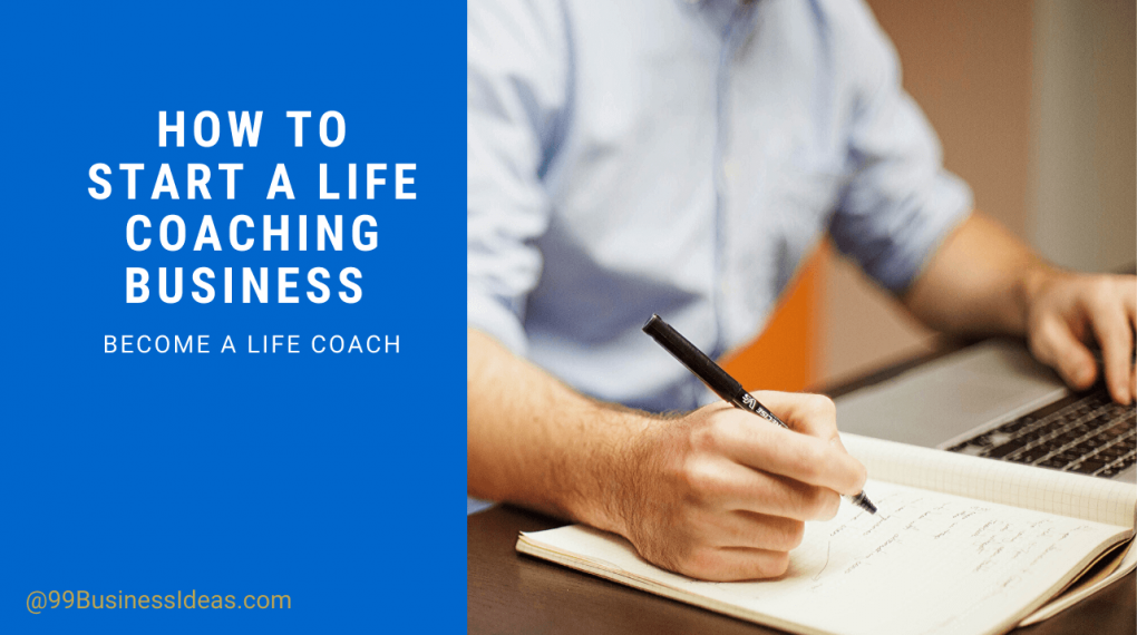 how to start life coach business at home
