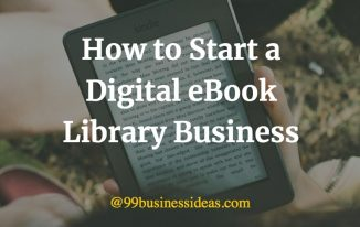 digital ebook library business