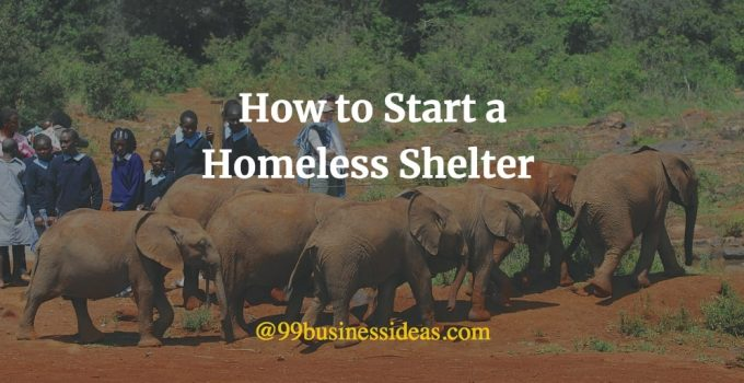 how to start a government shelter with government funds