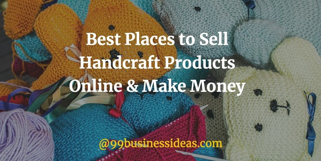 best places to sell handmade products online