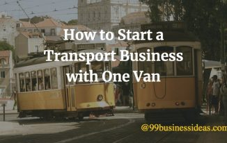 how to transport business with one van