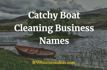 unique boat cleaning business names