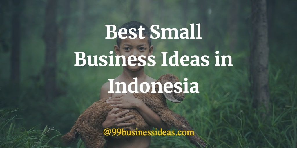 best business ideas in Indonesia