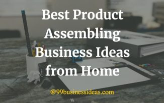 best product assembling business ideas from home