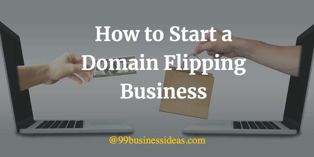 how to start domain flipping business