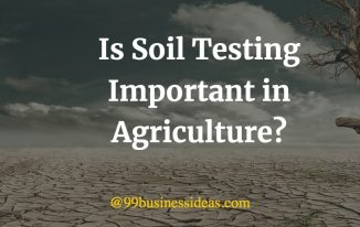 is soil testing important in agriculture