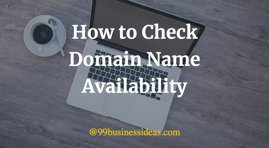 how to check domain name availability